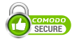 This website is secured by Comodo.